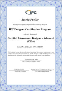 CID+ Zertifikat